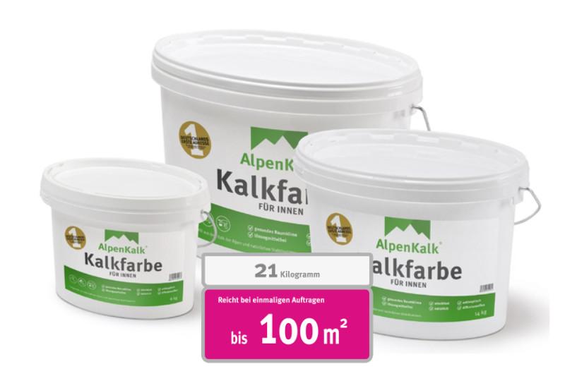 Extrem Verarbeitung Kalkfarbe - Alpenkalk - Kalkfarbe für Innen HR28