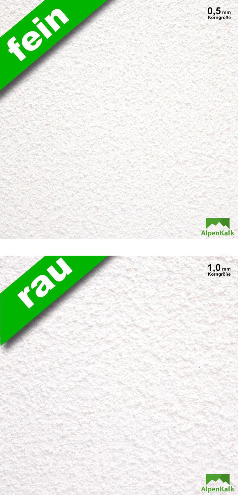 Super Streichputz, Rollputz innen - AlpenKalk kinderleicht auftragen RF19