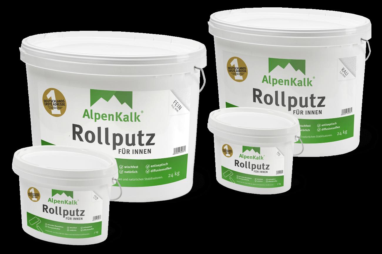 Super Kalkputz kaufen – AlpenKalk Rollputz/Streichputz für innen CS34