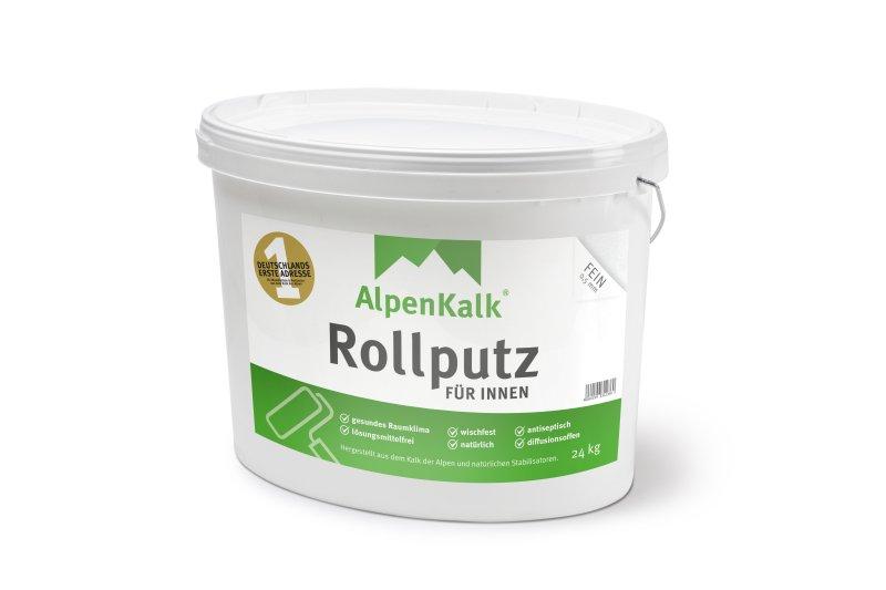 Sehr Streichputz, Rollputz innen - AlpenKalk kinderleicht auftragen ZK88