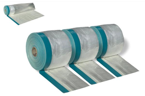Gewebeklebeband mit Folie - 3er Pack (30 cm)
