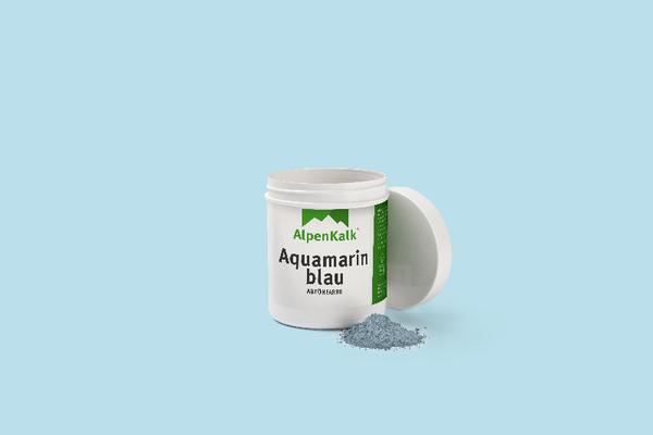 Aquamarinblau